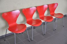 Fritz Hansen Stuhl 3107 Arne Jacobsen chair   Stühle   Pinterest ...