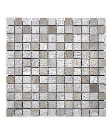 Alessi Marble Mix Large Square Mosaic Tile