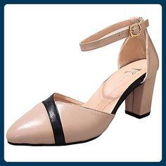 WZG Die neuen High-Top-Wildleder flache Schuhe in Europa und Amerika  Sandalen Hang mit dem Fischkopf Reißverschluss Schuhen Muffin , black , 37  - S…   ...