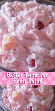 Fluff Desserts, 13 Desserts, Delicious Desserts, Yummy Food, Health Desserts, Jello Recipes, Fruit Salad Recipes, Dessert Recipes, Fruit Salads