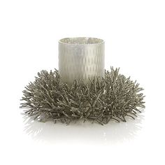Frost Silver Hurricane in All Sale Christmas | Crate and Barrel