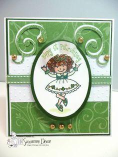 Luck o' the Irish Dancing Girl