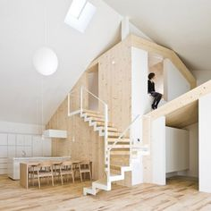 cool japanese wooden house interior