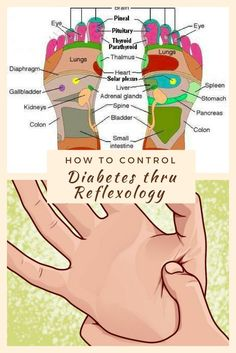 How to Control Diabetes Thru Reflexology