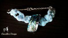 Blue dichroic.. Purchase info gazellasdesign@gmail.com or or visit www.poshmark.com/closet/gazellasdesign #blue #dichroicglass #bracelet #elegance #fashionpolis #texasfashion #madeforyou #handmade #handmadeset #accesoriesshop #custommade #jewelry #texas #houstongram #getyours #trendingnow #jewelryset #onlineshopping #onlinestore #shophouston @gazellasdesign