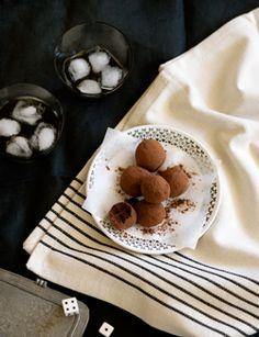 Frangelico truffles
