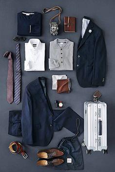 business travel ...repinned vom GentlemanClub viele tolle Pins rund um das Thema Menswear- schauen Sie auch mal im Blog vorbei www.thegentemanclub.de