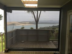 Block out the wind with a Roller Blind -manufactured in Shadeview fabric. Still maintain visibility and add privacy. Roller Blinds, Shades, Exterior, Samsung S9, Windows, Canvas, Fabric, Outdoor, Garden