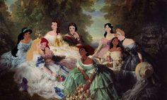 Tableau princesses disney
