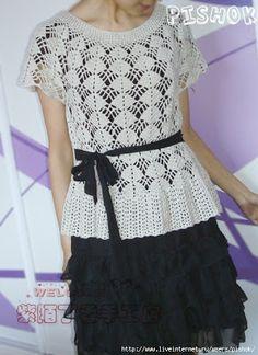 Casa da Salete: vestidos de crochet