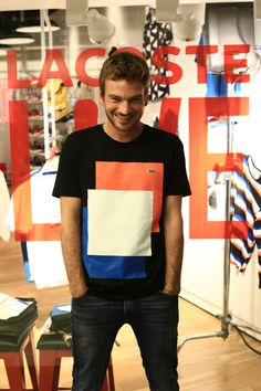 Guillermo Pfening @ Lacoste L!VE Music & Art Session in Buenos Aires, Argentina.