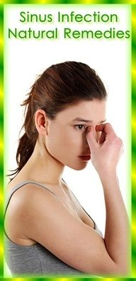 Natural Home Remedies for Sinus Infection | Catherine's Healhty Lifestyle