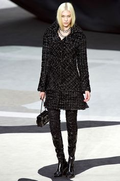 @roressclothes clothing ideas #women fashion CHANEL FALL 2013 JULIANA SCHURIG