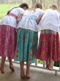 emerson skirts pattern for girls by mariemadelinestudio on Etsy, $14.00