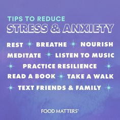 We're living through a time of uncertainty, but there is one thing that we know is certain. There are little things you can do for yourself to calm the mind, ground yourself and release tension.  Here are some simple things you can do to reduce stress & anxiety ✨ Mind Over Matter, Reduce Stress, Nutrition Tips, Listening To Music, Stress Relief, Natural Health, Family Meals, Health And Wellness, Books To Read