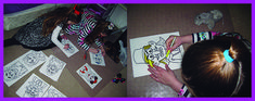coloreando Ester Playing Cards, The Kingdom Of God, School, Colors, Playing Card Games, Game Cards, Playing Card