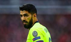 Luis Suarez of FC Barcelona during the UEFA Champions League Semi Final second leg match between Liverpool and Barcelona at Anfield on May 2019 in Liverpool, England. Get premium, high resolution news photos at Getty Images Champions League Semi Finals, Uefa Champions League, Psg, David Beckham, English Football Teams, Sport English, Amazing Comebacks, Miami, Liverpool Fans