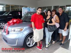 Ariel is the new owner of this 2009 #Scion! Welcome to the #DavidMaus #family! #WhateverItTakes