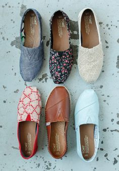 TOMS newest Classics will not only make a statement this season, but also give back to those in need.
