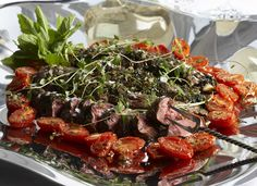 Lamb filet with herbs - Yrttimarinoitu lampaanfilee Easter Recipes, Easter Food, Beef, Cooking, Ideas, Recipes, Meat, Kitchen
