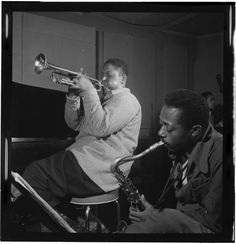 Fats Navarro and Charlie Rouse