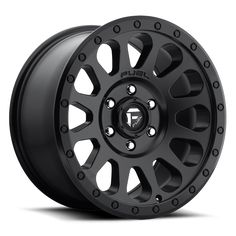 Fuel Vector Wheels 18x9 6x120 Black 20mm | D57918909457