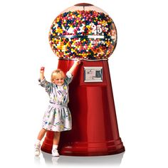 giant gumball machine 20,000 inside but its 3.000