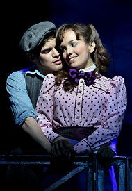 Jack and Katherine, Newsies. favorite movie ever..need to see the broadway musical!