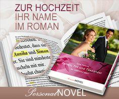 Ein personalisierter Roman als Geschenkidee. Sie bestimmen Namen, Orte und Eigenschaften der Person. Ein sehr originelle Geschenkidee.