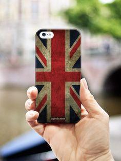 Inspired Cases Vintage British Flag Case f #inspiredcases #greatbritain #british #love