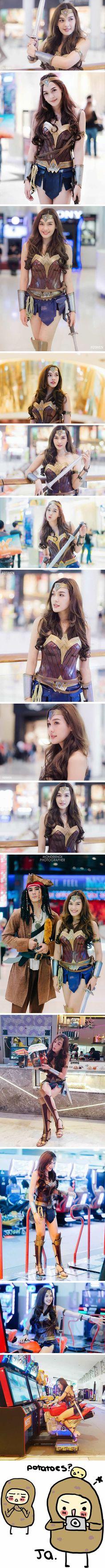 Stunning Wonder Woman cosplay will make you fall in love with Diana: Please meet Pichyada Chatlkamjaroen (Rae)