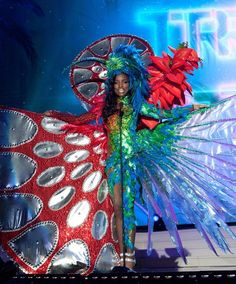 National Costumes at the Miss Universe 2015 Miss Trinidad and Tobago