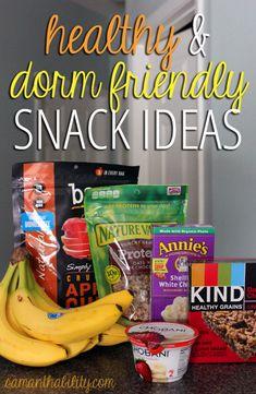 healthy dorm college snack