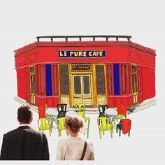 내가 젤 좋아하는 비포 시리즈. 퓨어 카페에서 커피 한 잔 하고프다. 에단호크랑 :))) One of my favorite movies, Before series. I really really hope to have  coffee with Ethan Hawke at Le Pure Cafe   #데일리 #영화 #비포선셋 #비포시리즈 #프랑스 #파리 #카페 #그림쟁이 #일러스트 #그림 #디자인 #아트 #손그림 #instadaily #movie #beforesunset #before #France #Paris #cafe #lepurecafe  #illustration #drawing #doodle #design #art #artist