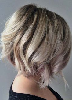 In this post of content we are going to show you some amazing trends of asymmetrical curly bob balayage hairstyles and haircut. We are sure you'll be pleased to see here our best collection of curly bob haircuts for 2018. Use these brilliant ideas of balayage bob hairstyles for modern styles hair looks in year 2018.