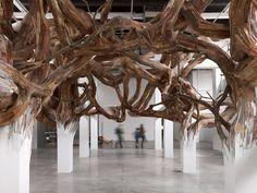 Paris on the Amazon: Henrique Oliveira's Baitogogo Sculpture at Palais de Tokyo