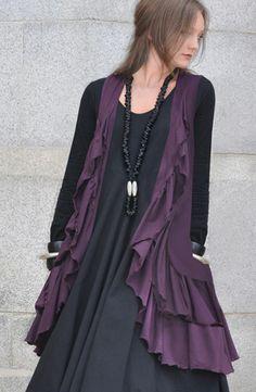 Black and purple.