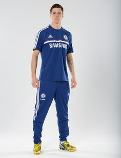 Fernando Torres. Chelsea 2013/14 Training kit range.