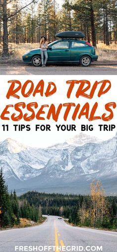 11 road trip essentials that you might not have thought of! After road tripping the US for over a year, these are our tried and true tips.
