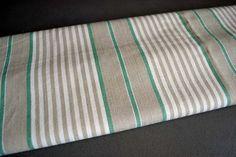 Antique French Stripe Fabric Mattress by shabbyfrenchvintage