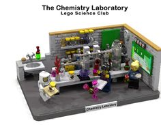 LEGO Ideas - The Chemistry Laboratory