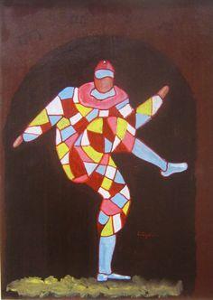 Arlecchino - Luigi Cigolotti, sezione arti grafiche e pittoriche