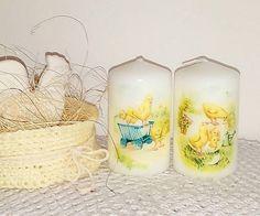 dekora15 / duo veľkonočných sviečok