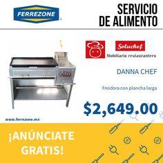 #MobiliarioYequipo #ServicioDeAlimento #Hornos #Freidoras http://www.ferrezone.mx El mercado ferretero de México