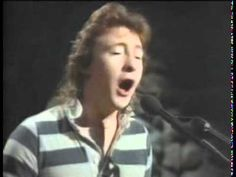 My childhood crush! (One if them)  A hauntingly sweet little song for me back then...and now.  Julian Lennon - Too Late for Goodbyes - YouTube