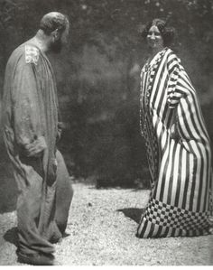 Emilie Jogle et Gustav Klimt, créations de Klimt