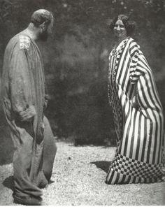 * Emilie Jogle et Gustav Klimt, créations de Klimt