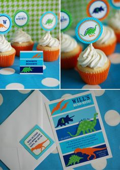 DINOSAUR Birthday Party Printable INVITATION - Dinosaur Party Invitation Printables. $18.00, via Etsy.