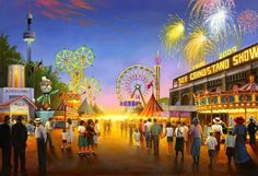 MN State Fair!- What a great place to be once a year. Millions of people come to the greatest fair !