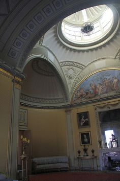 Wimpole Hall - the drawing room - Soane